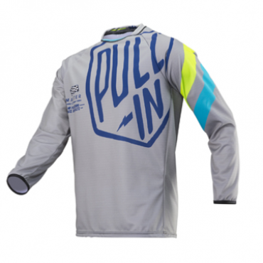 Maillot Challenger Master Grey/Lime